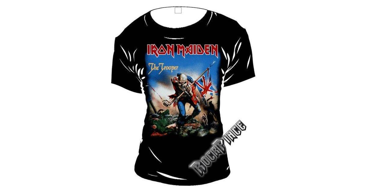 IRON MAIDEN - TROOPER - NŐI PÓLÓ - Rockpince b7527d5fcc