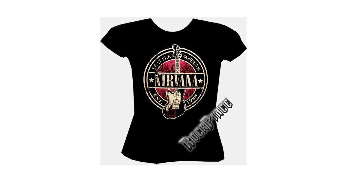 cbe1017d62 Nirvana - TDM-1448 - női póló - Rockpince