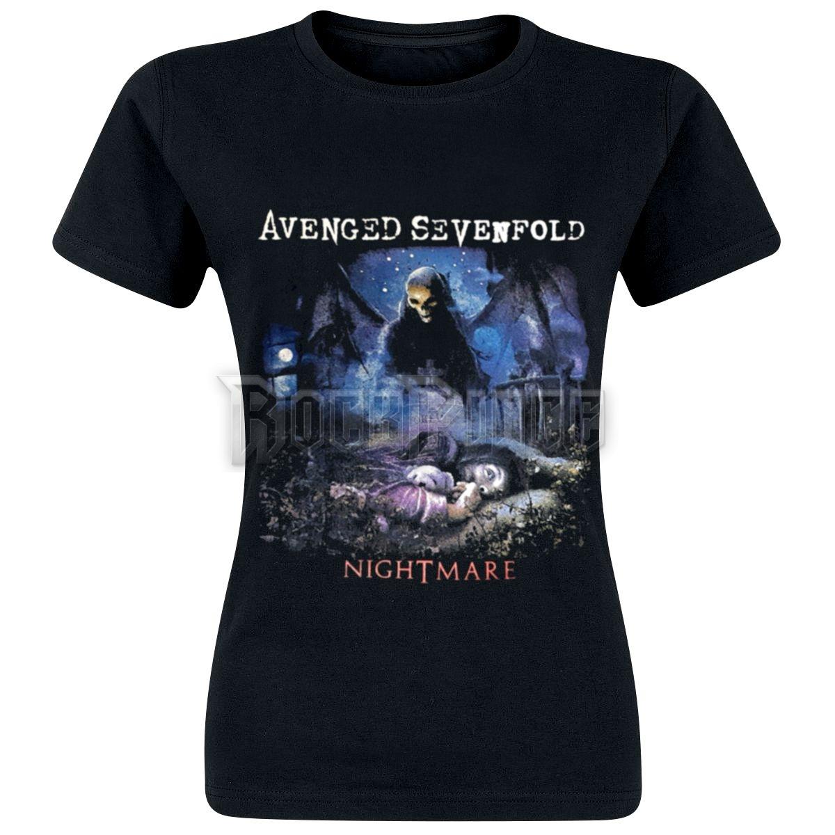 Avenged Sevenfold - Nightmare - női póló