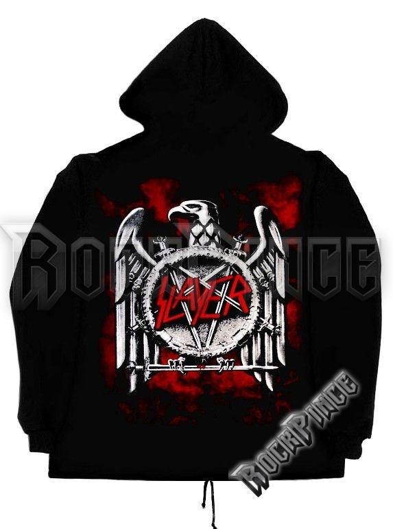 Slayer Eagle cipzáras kapucnis pulóver
