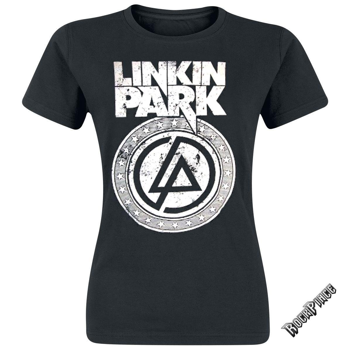LINKIN PARK - CIRCLE LOGO - NŐI PÓLÓ - Rockpince 53b670c134