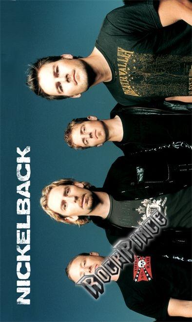 Nickelback - Band - POSZTERZÁSZLÓ FL-0212