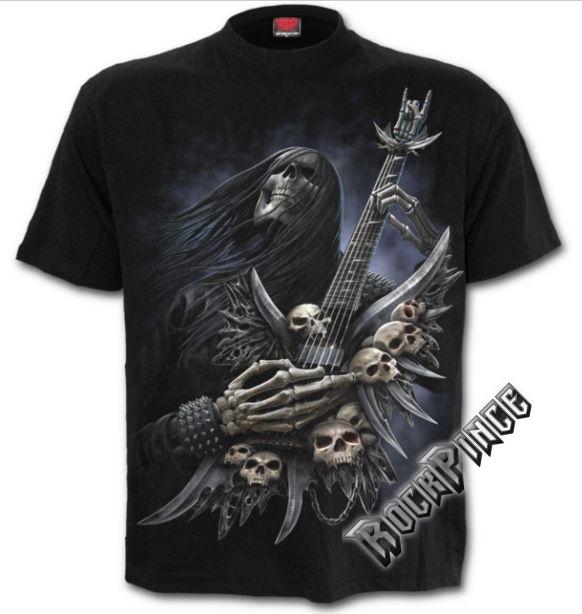 ROCK ON - T-Shirt Black - T124M101