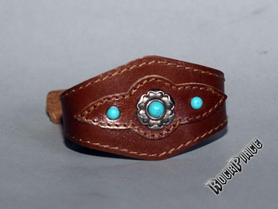 Western bőr karkötő