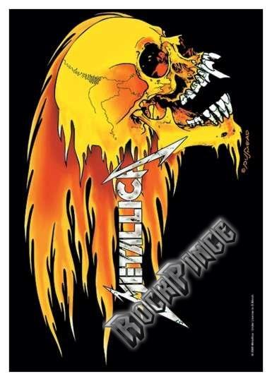Metallica - poszterzászló