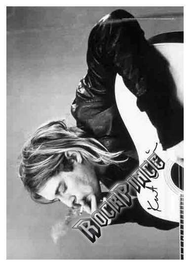 Kurt Cobain - poszterzászló