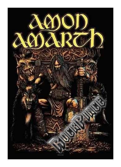 Amon Amarth Thor - poszterzászló