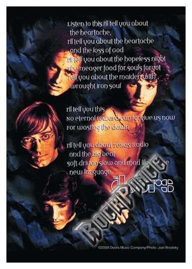 The Doors - poszterzászló