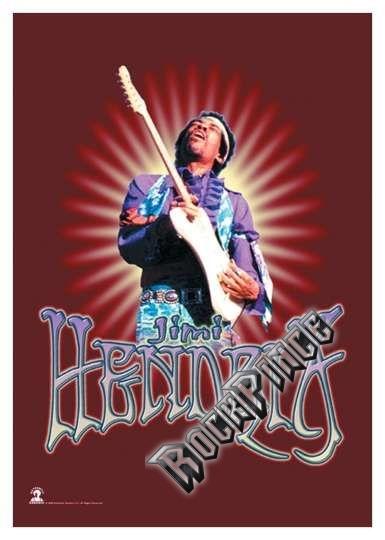 Jimi Hendrix - poszterzászló