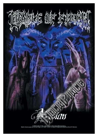 Cradle of Filth - poszterzászló