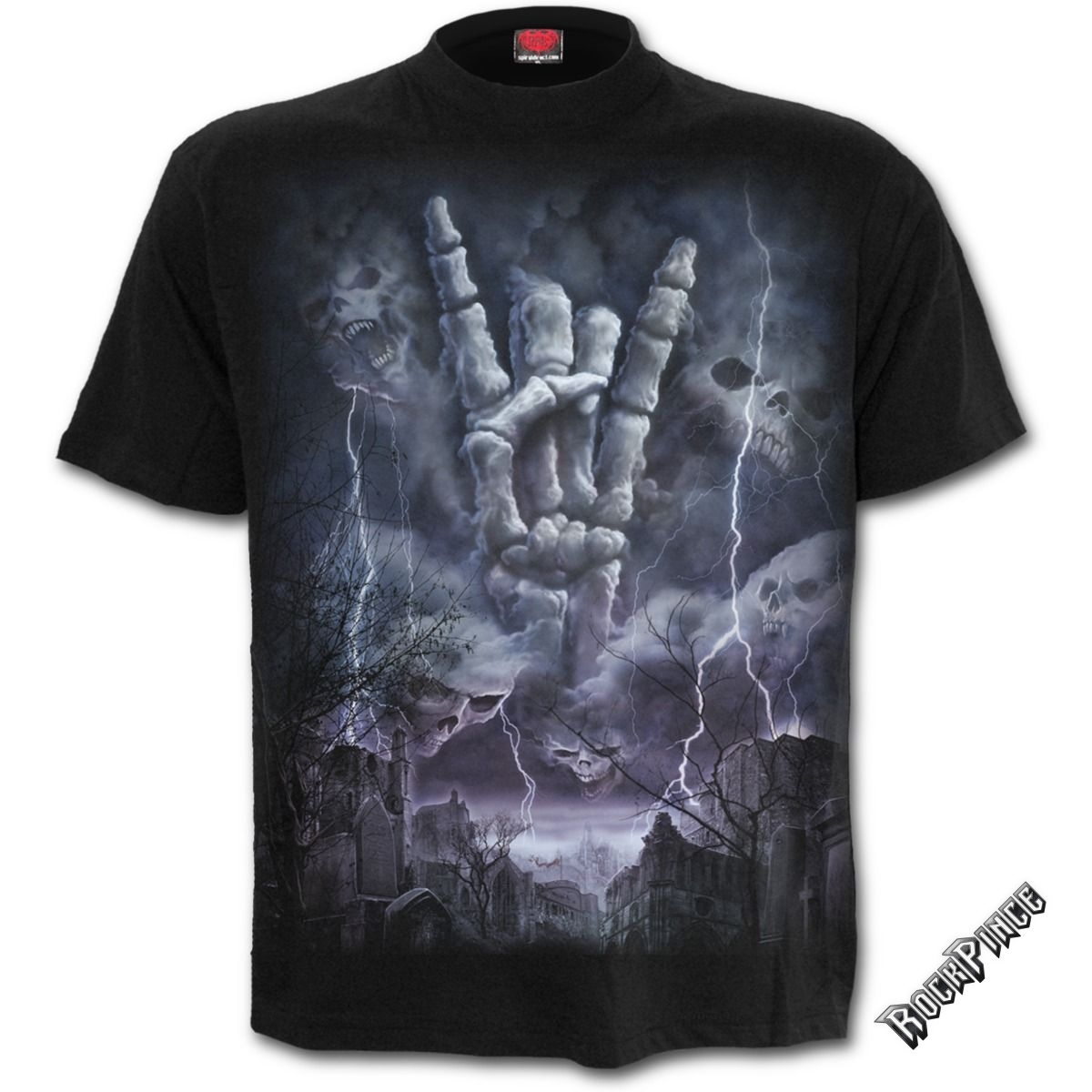 ROCK ETERNAL - T-Shirt Black - T136M101