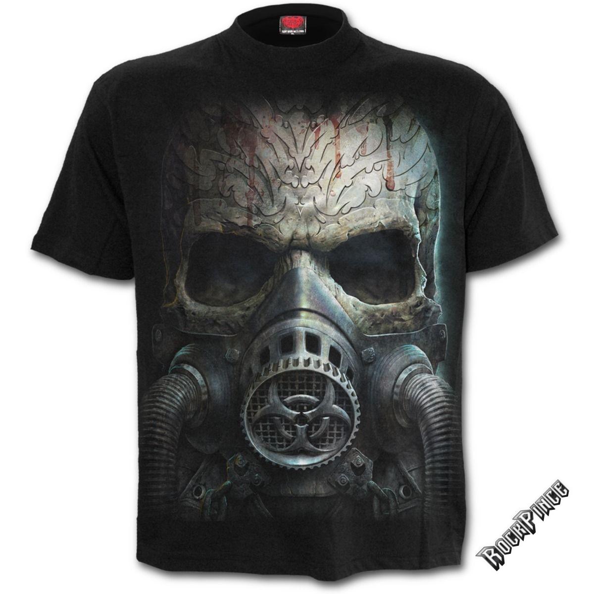 BIO-SKULL - T-Shirt Black - M024M101