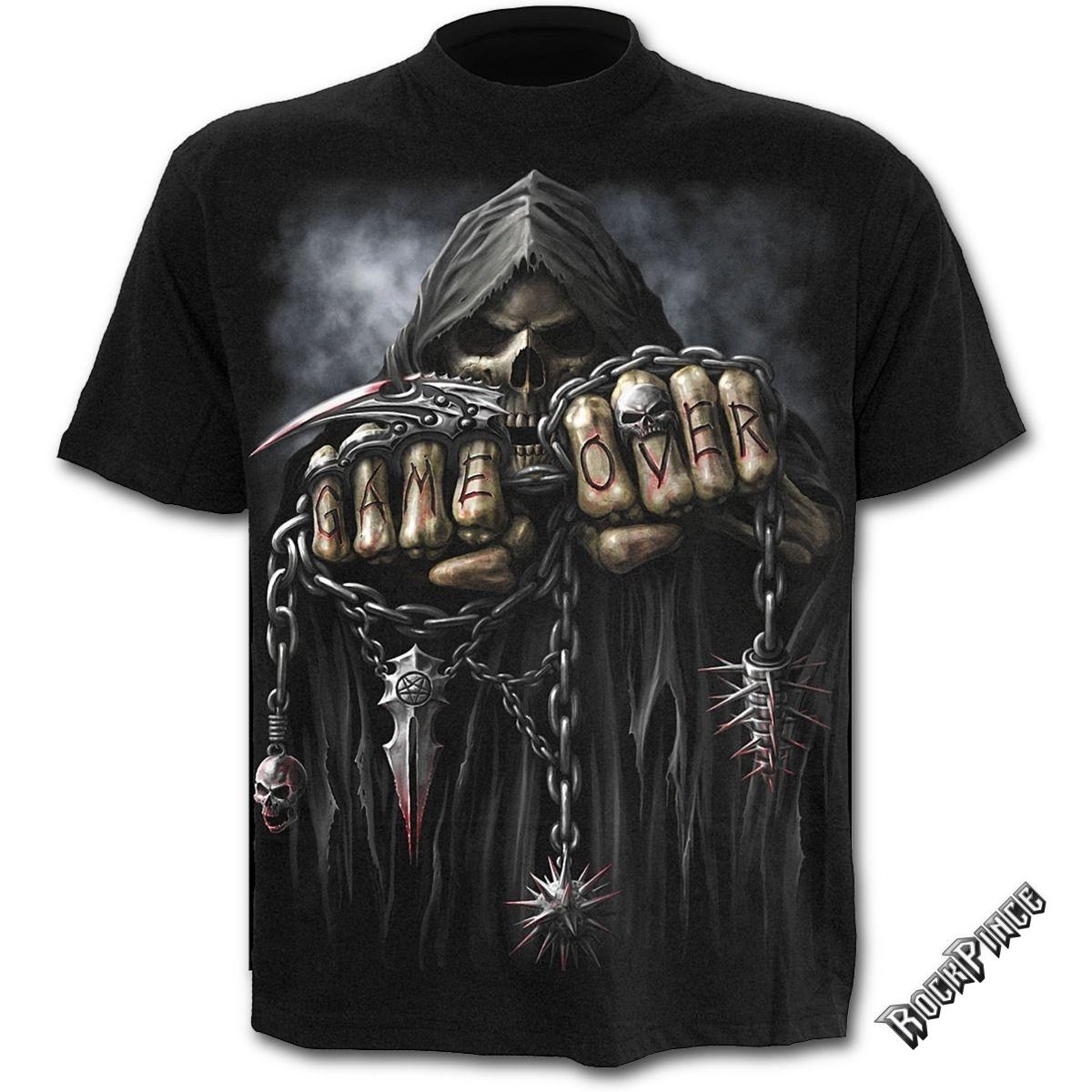 GAME OVER - Kids T-Shirt Black (Plain) - T026K101