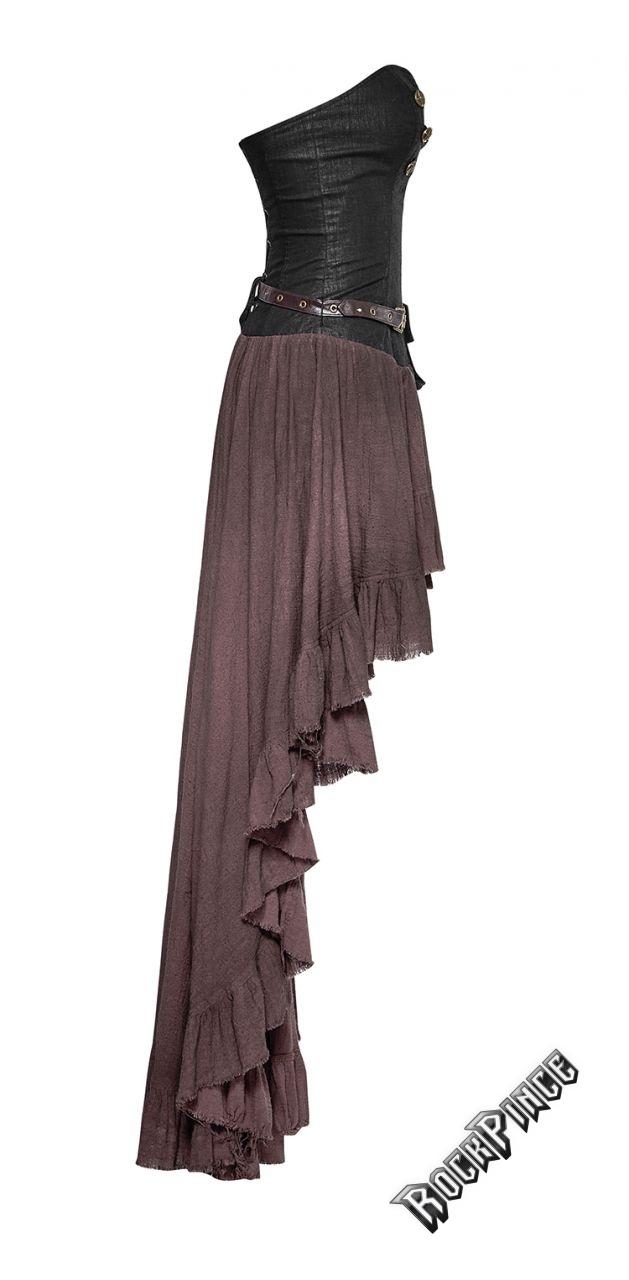 DRYAD - barna steampunk ruha Q-311brn
