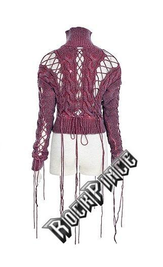 LAMIA - női pulóver PM-030-red
