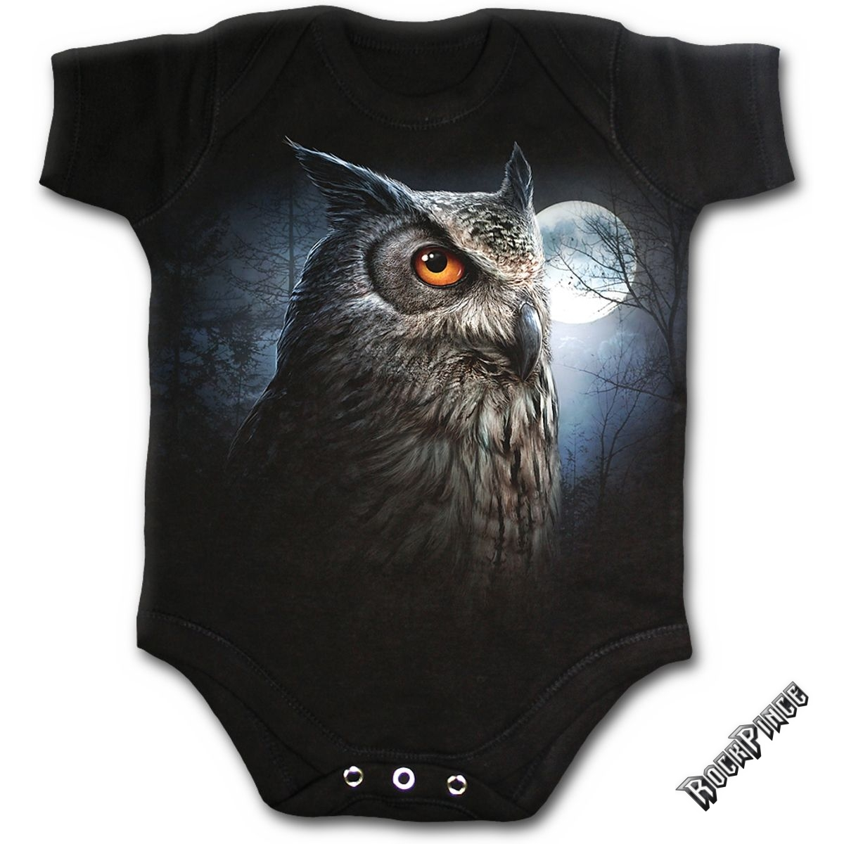 NIGHT WISE - Baby Sleepsuit Black - F018K002