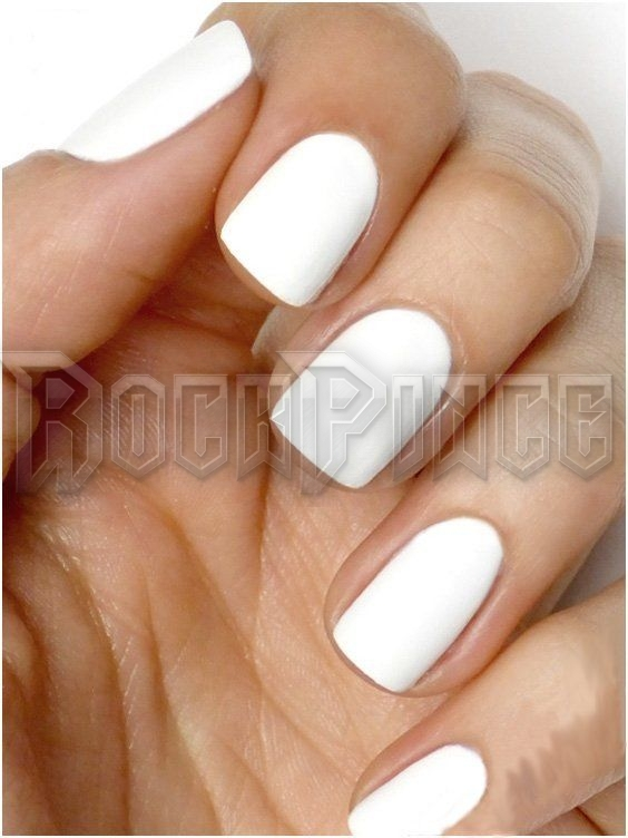 WHITE - körömlakk GLOSSY-118-WHITE