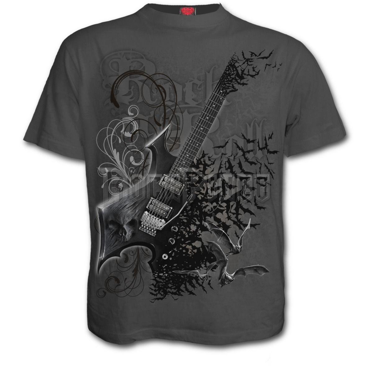 NIGHT RIFFS - T-Shirt Charcoal - E025M115