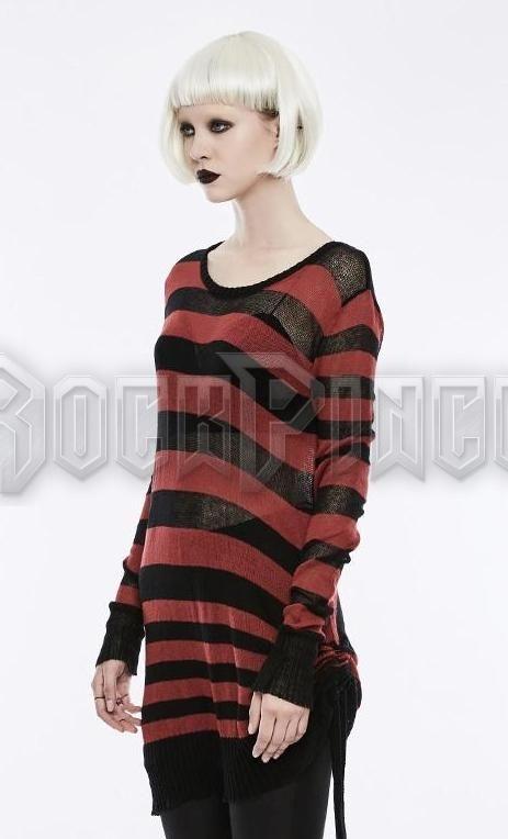 INSANITY - női pulóver OPM-074-RD-BK