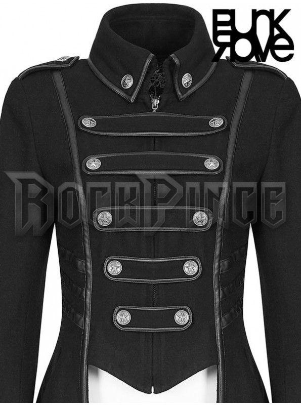 THE GOTHIC ARMY - női kabát Y-786bk-fem