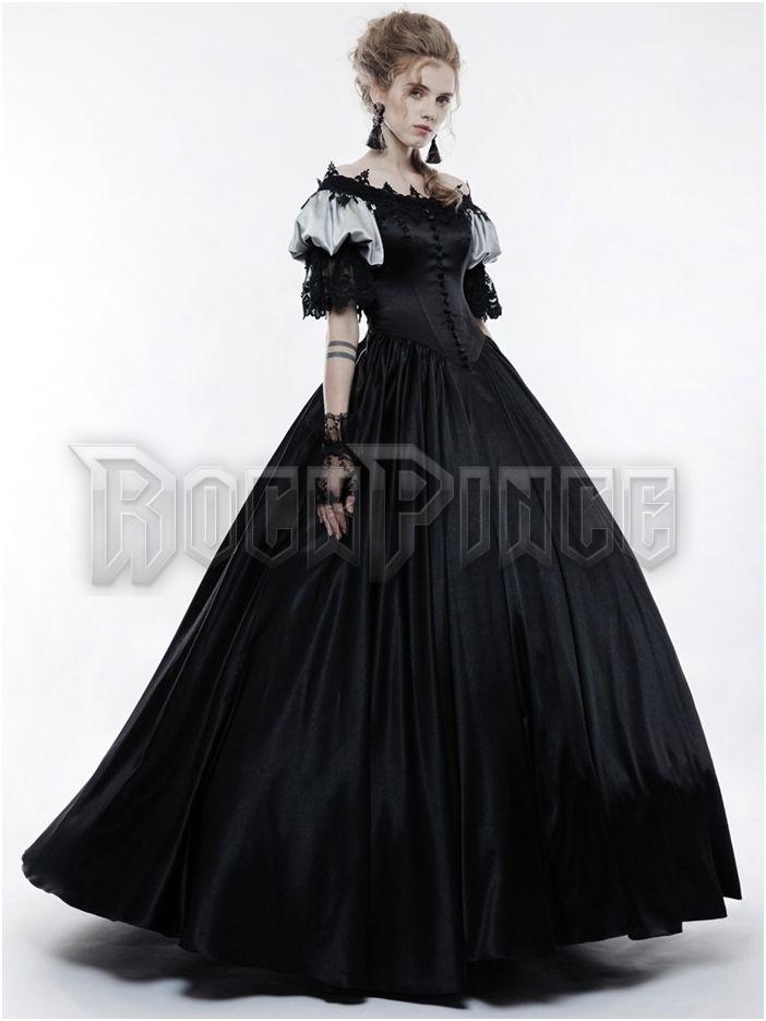 BLACK RUBY - nagyestélyi ruha WQ-356/BK
