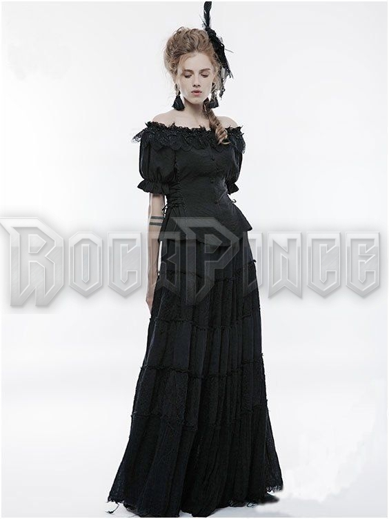 GOTHIC LILY - top WLY-070/BK