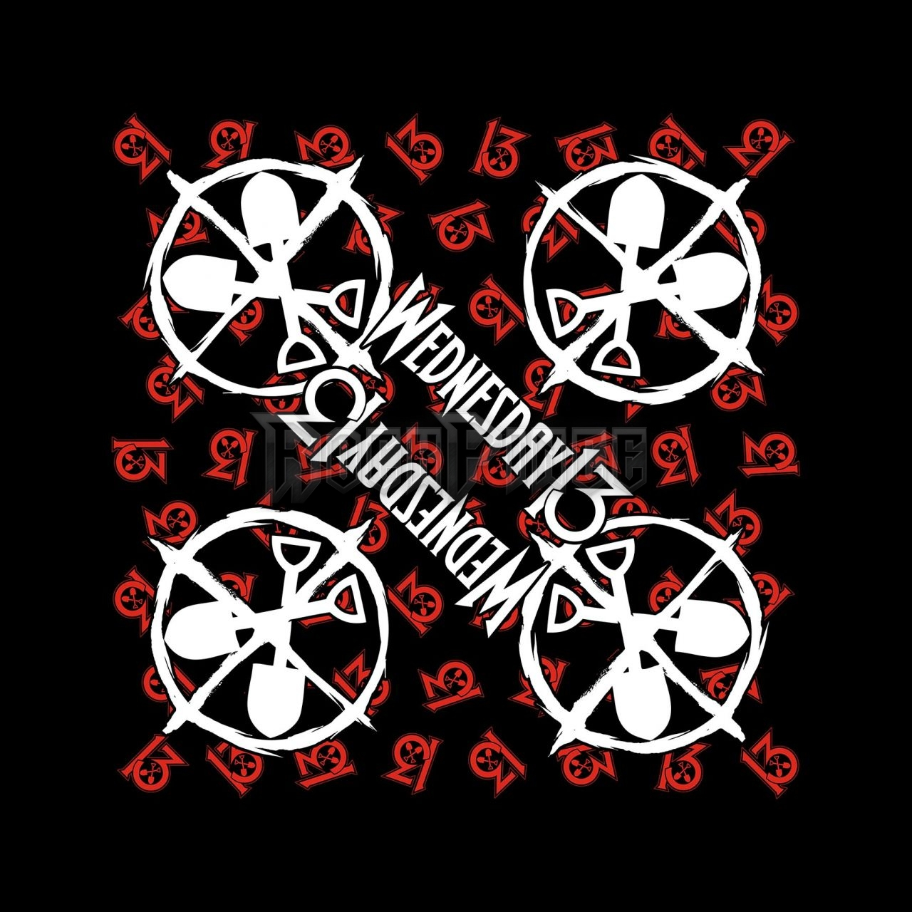 Wednesday 13 'Logo Shovels' Bandana - B073