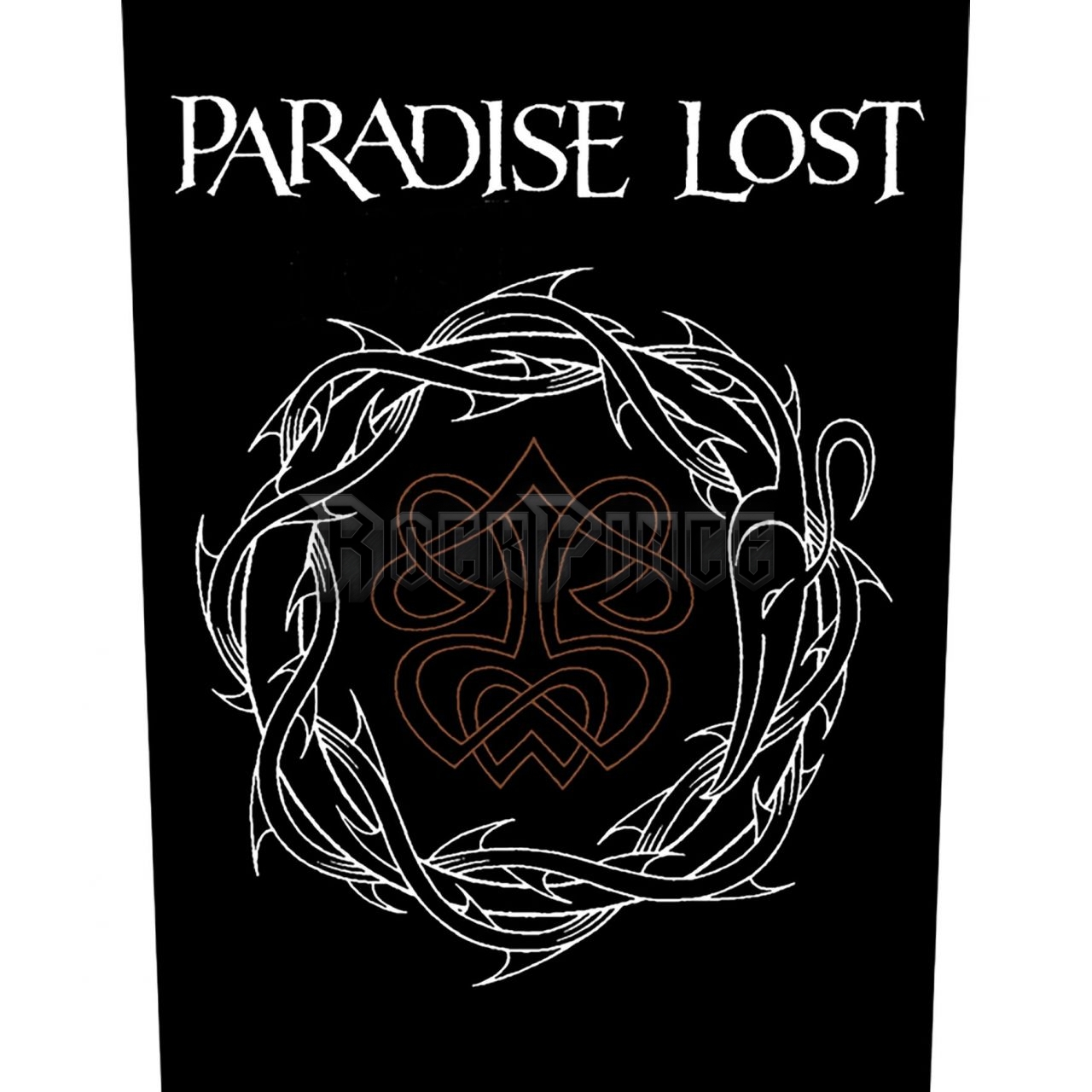 Paradise Lost 'Crown Of Thorns' hátfelvarró - BP1081
