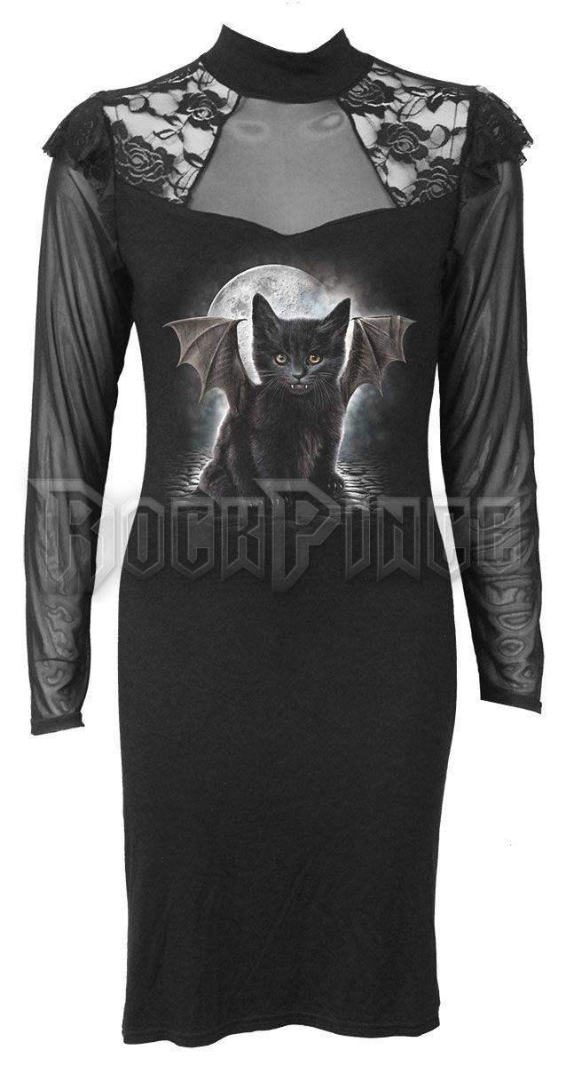 BAT CAT - Lace Shoulder Corset Dress (Plain) - F015F140
