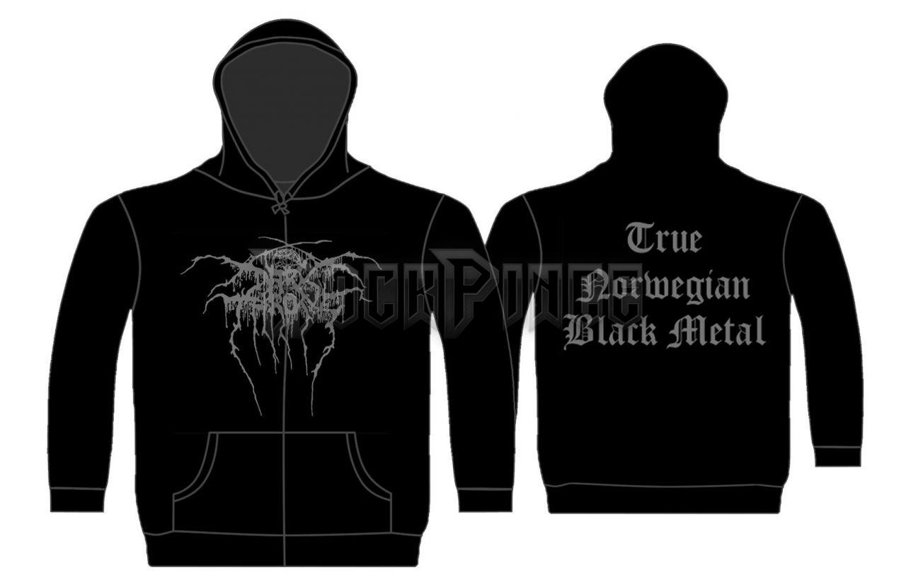 Darkthrone 'True Norwegian Black Metal' - cipzáras pulóver - ZH216