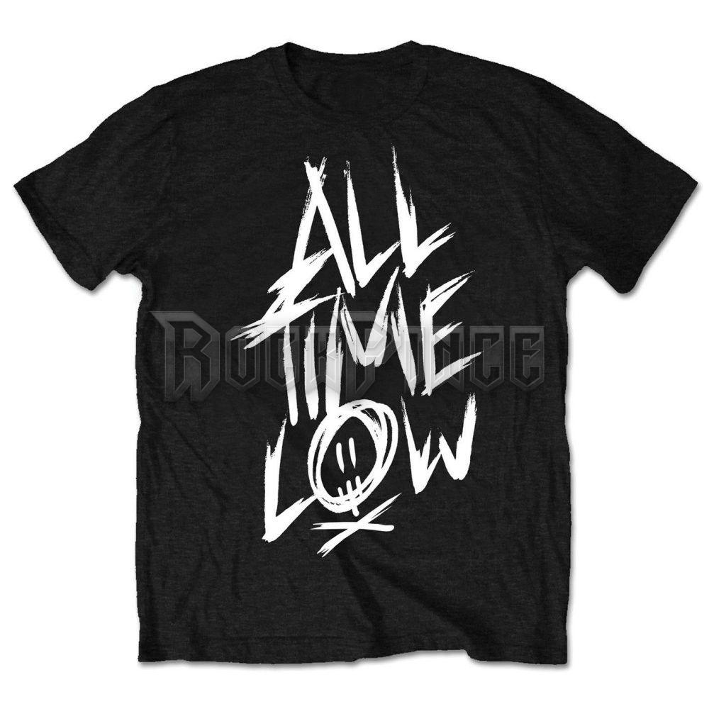 All Time Low férfipóló - Scratch - ATLTS02MB