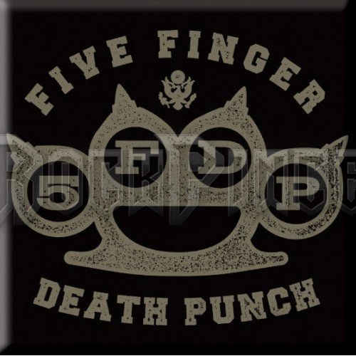 Five Finger Death Punch Hűtőmágnes: Brass Knuckle - FFDPMAG01