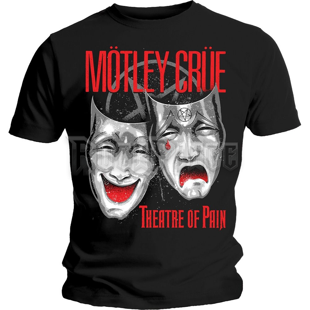 Motley Crue Férfipóló: Theatre of Pain Cry - MOTTEE23MB