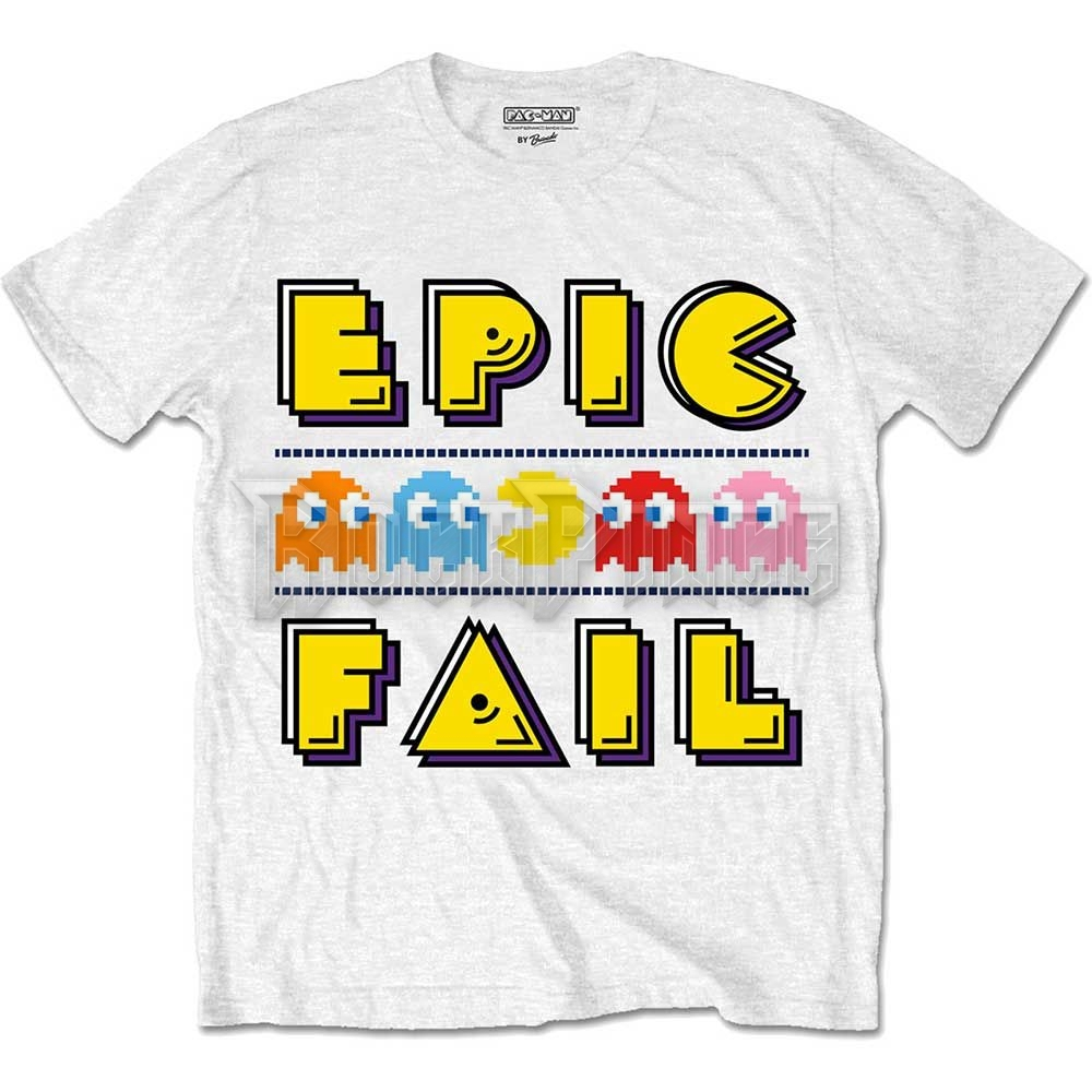Pac-Man Férfipóló: Epic Fail - PACTS01MW