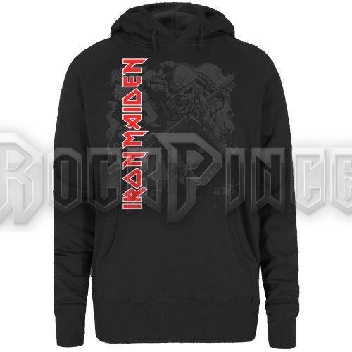 Iron Maiden Női Kapucnis Pulóver: Trooper - IMHOOD03LB