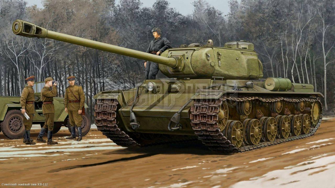 II. világháborús tankos bögre - KV-122