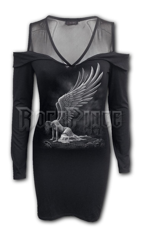 ANGEL - 2in1 Fine Mesh Shoulder Dress - L045F143