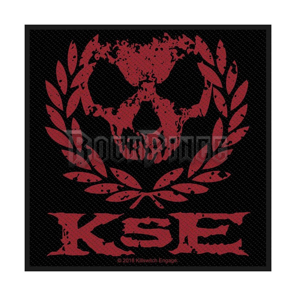 Killswitch Engage Standard Patch: Skull Wreath (Retail Pack) - SPR3025