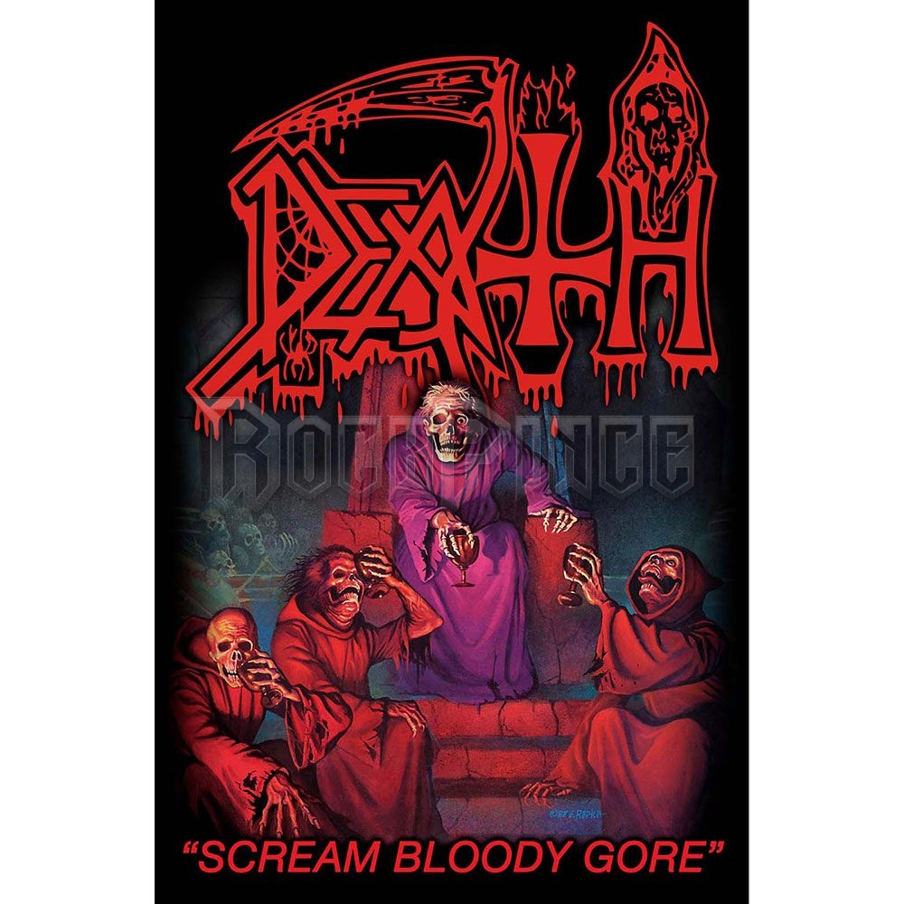 Death Textile Poster: Scream Bloody Gore - TP034