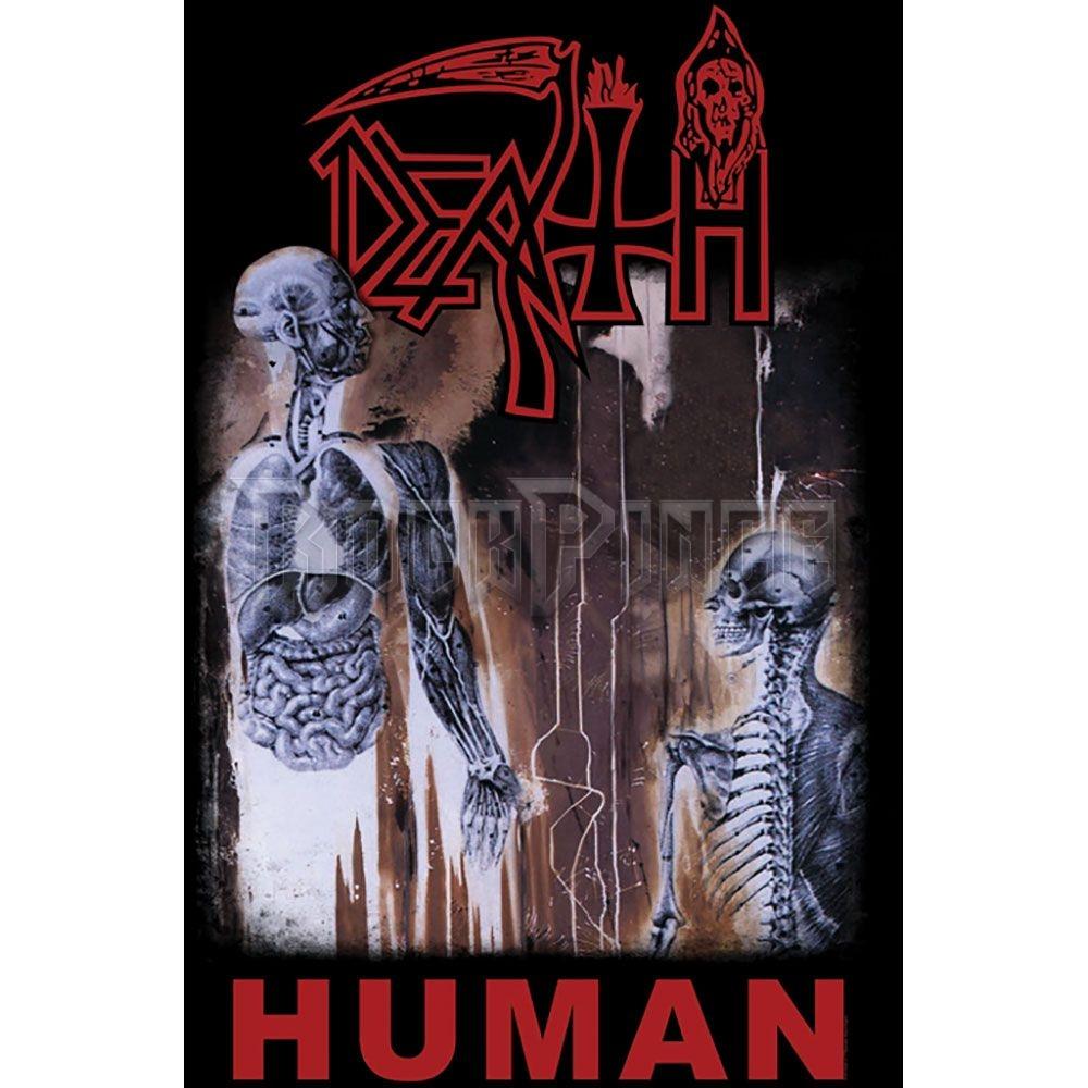 Death Textile Poster: Human - TP035