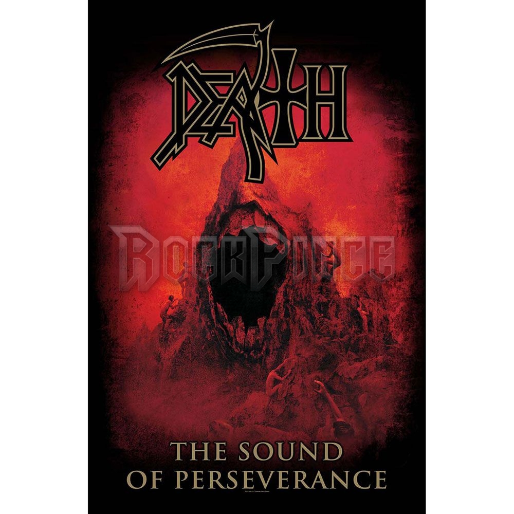 Death Textile Poster: Sound Of Perseverance - TP036