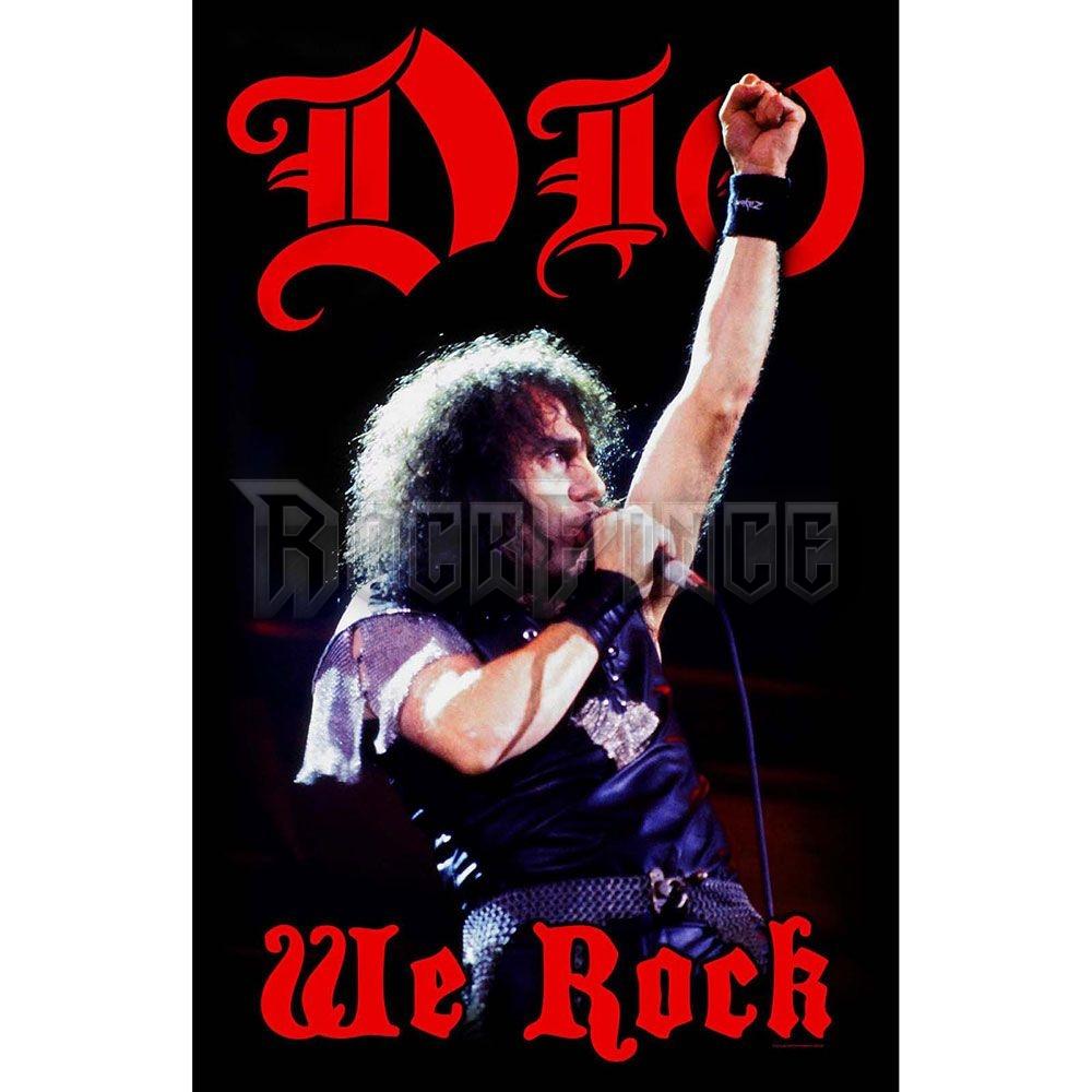 Dio Textile Poster: We Rock - TP057