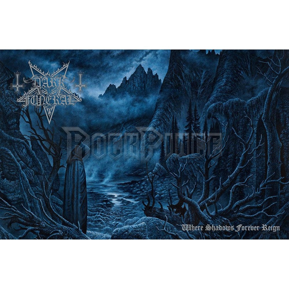Dark Funeral Textile Poster: Where Shadows Forever Reign - TP123
