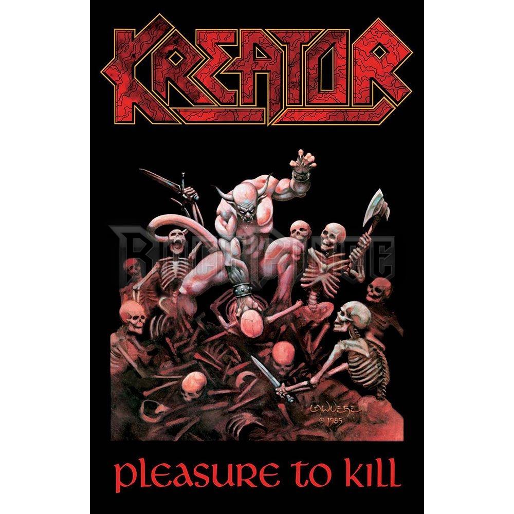 Kreator Textile Poster: Pleasure To Kill - TP128