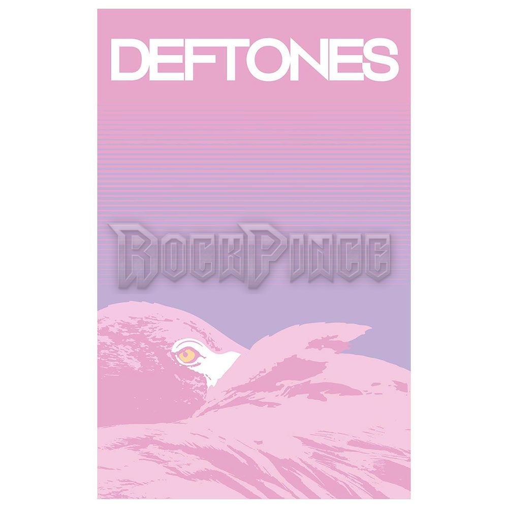 Deftones Textile Poster: Flamingo - TP140