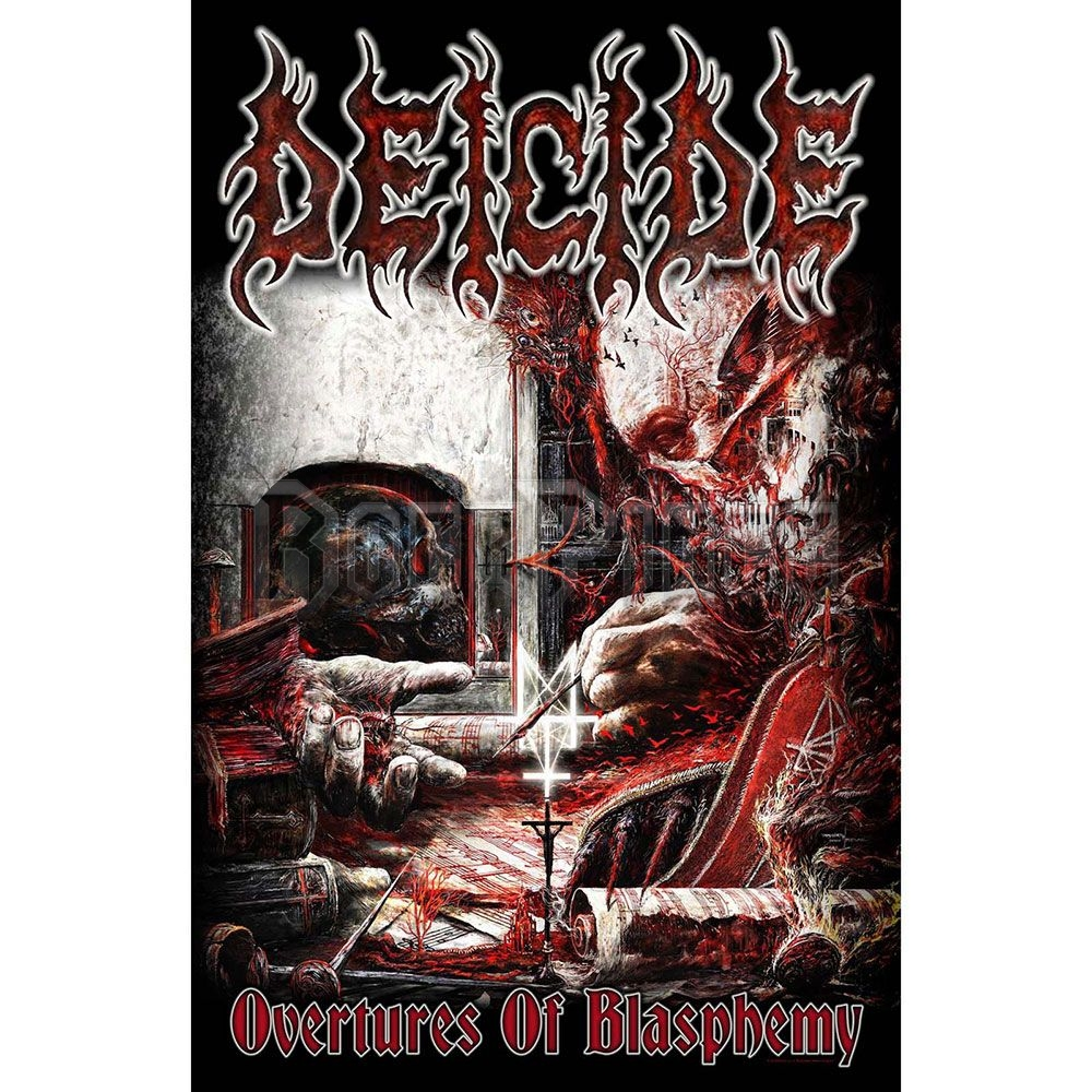 Deicide Textile Poster: Overtures Of Blasphemy - TP183