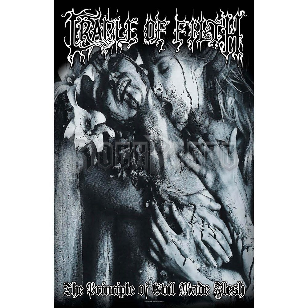 Cradle Of Filth Textile Poster: Principle Of Evil Made Flesh - TP190