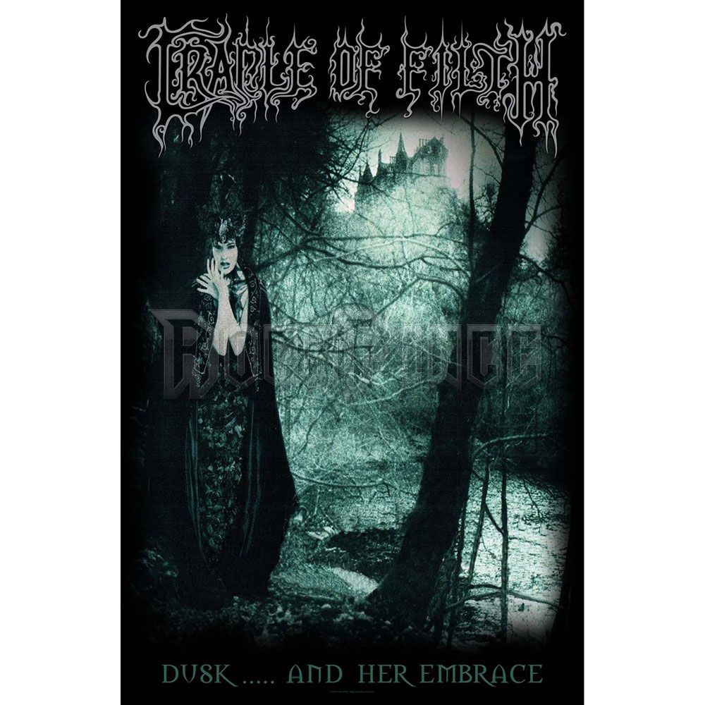 Cradle Of Filth Textile Poster: Dusk And Her Embrace - TP191