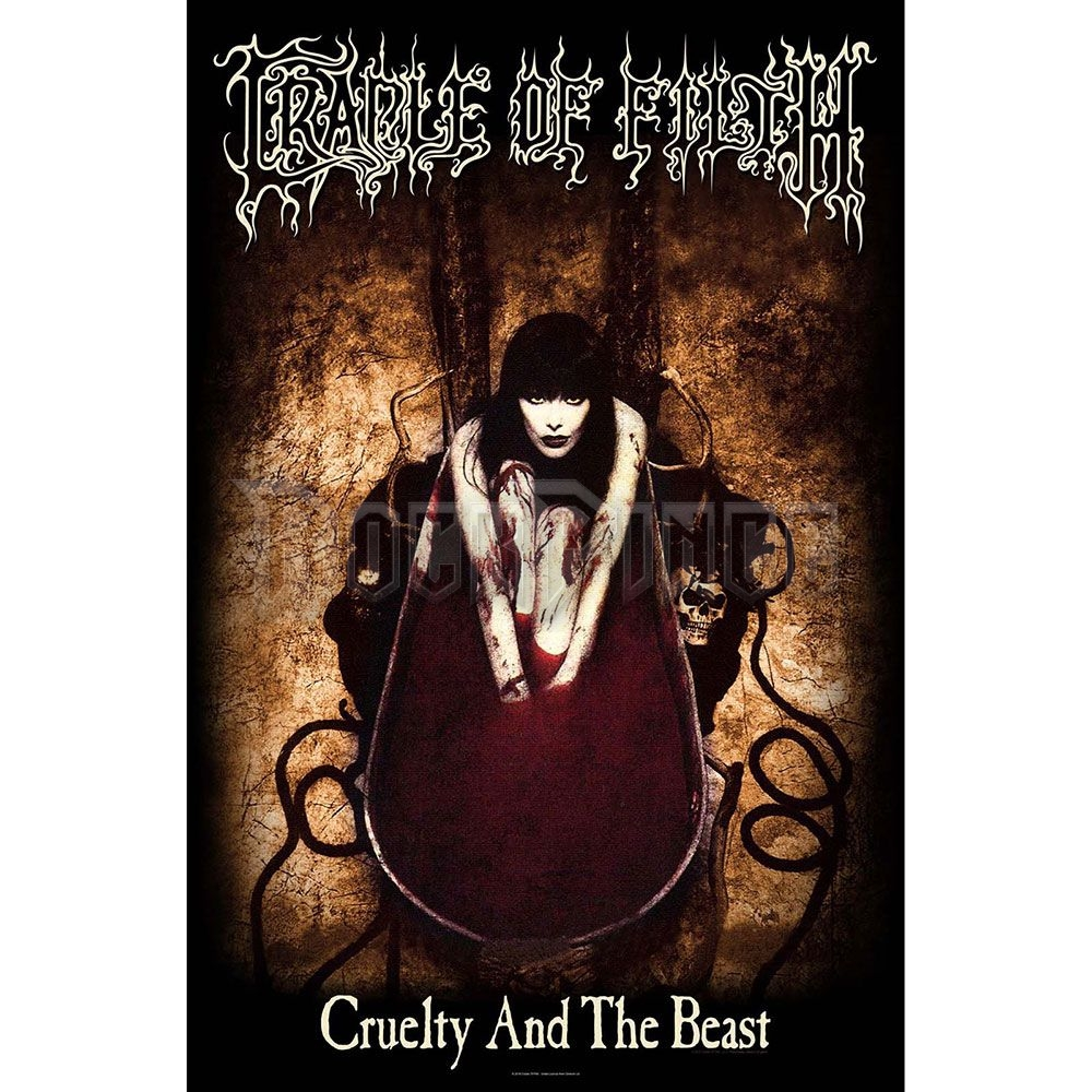 Cradle Of Filth Textile Poster: Cruelty And The Beast - TP192