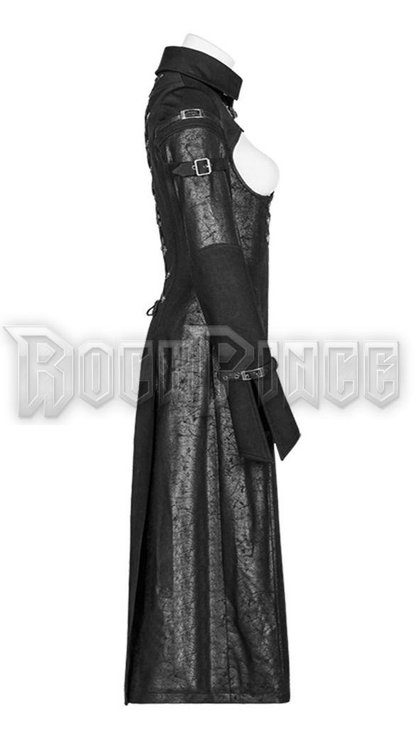 GOTHIC MILITIA - női kabát WY-981/BK